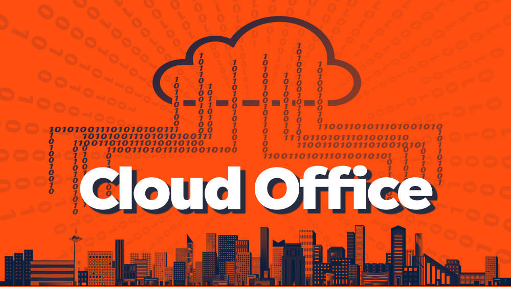 cloud office - remote office - digital office
