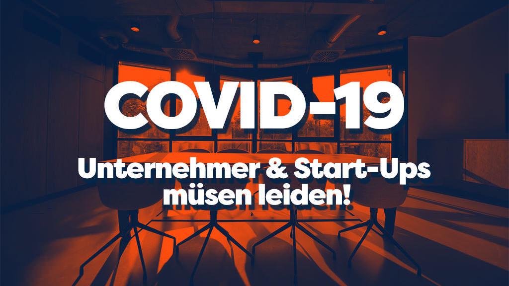 Auswirkungen von covid-19 auf die wirtschaft und startup szene