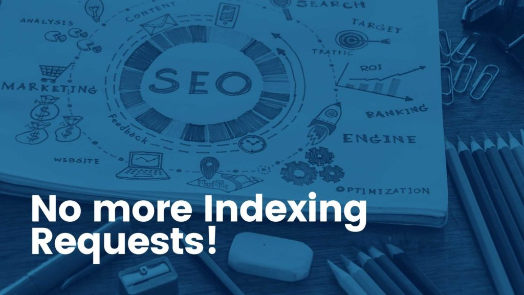Indexing requests are suspended. Google does not allow for manual indexing requests anymore